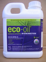 Eco oil used in tasmanian horticulture.