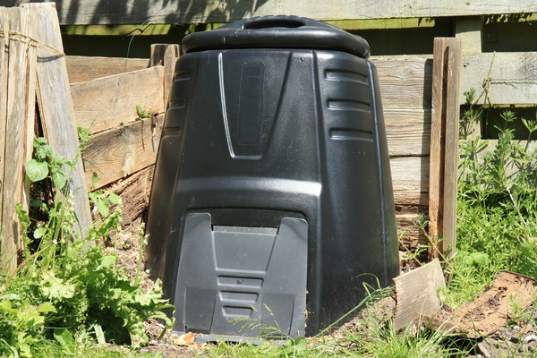 Plastic compost bins are good for small tasmanian gardens